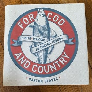 For Cod and Country seafood cookbook